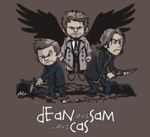 Dean and Sam and Cas | Unisex T-Shirt
