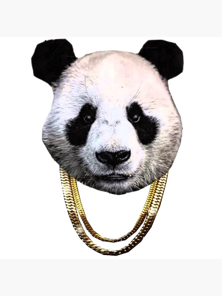 Desiigner Panda Logo by darylruggier
