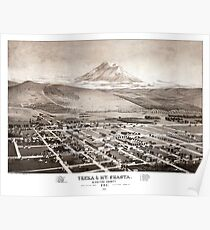 Yreka - California - United States - 1884 Poster