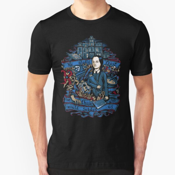 Wednesday Feast Slim Fit T-Shirt