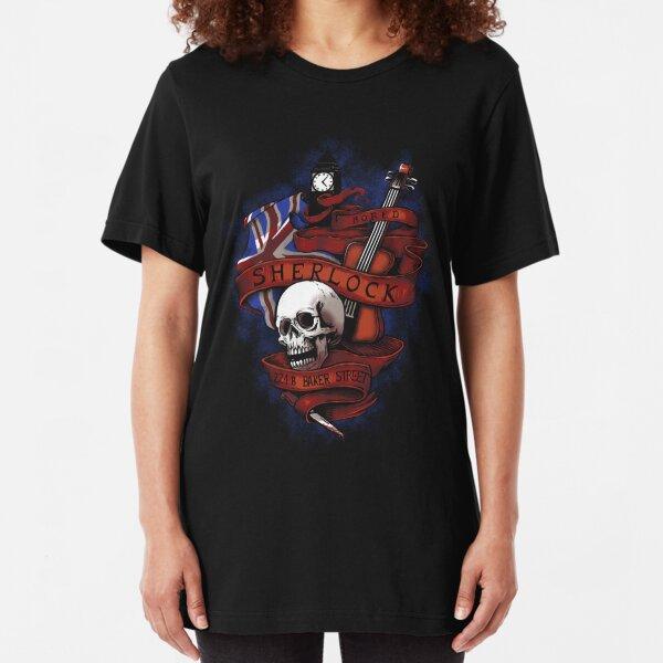 Sherlock Holmes Slim Fit T-Shirt