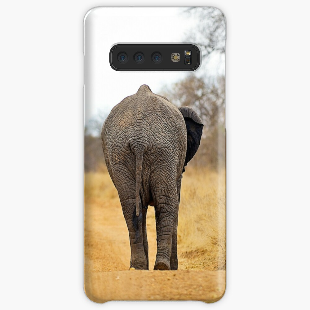 African Elephant (Loxodonta africana) mother and baby Case & Skin for Samsung Galaxy