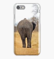 African Elephant (Loxodonta africana) mother and baby iPhone Case/Skin