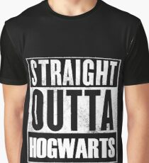 Straight outta Hogwarts Graphic T-Shirt