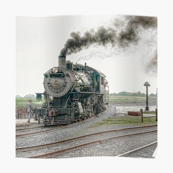 Strasburg Steam Poster