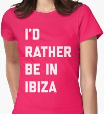 Be In Ibiza Music Quote T-Shirt