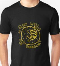 Sleep well Little Pangolin  Unisex T-Shirt