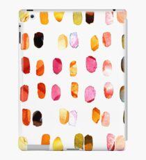 strokes of colors iPad Case/Skin