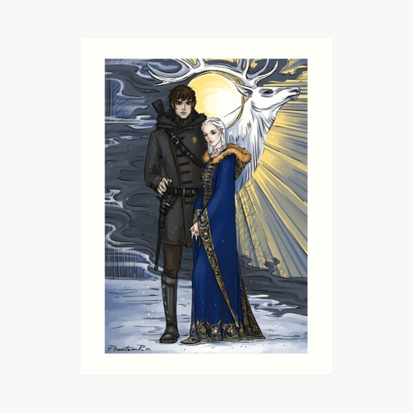 the sword and the saint Art Print