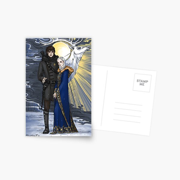 the sword and the saint Postcard