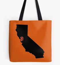 San Francisco Giants - California Tote Bag