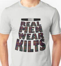 Real Men Wear Kilts Unisex T-Shirt
