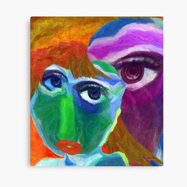 Problem Girl Canvas Print