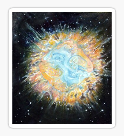 Entwined Celtic Galaxy  Sticker
