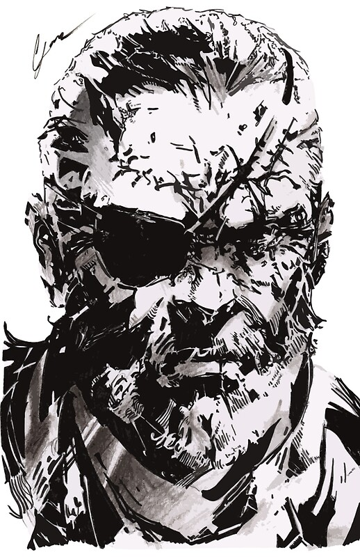 Quot Big Boss Metal Gear Solid Quot Art Prints By Leamartes