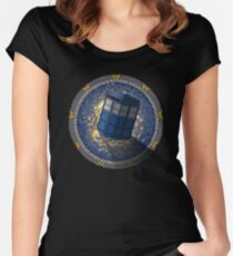 Who's Gate? Women's Fitted Scoop T-Shirt