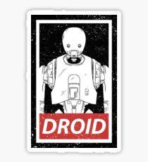 Droid Sticker