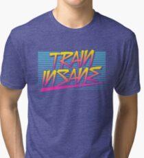Train Insane Retro Tri-blend T-Shirt