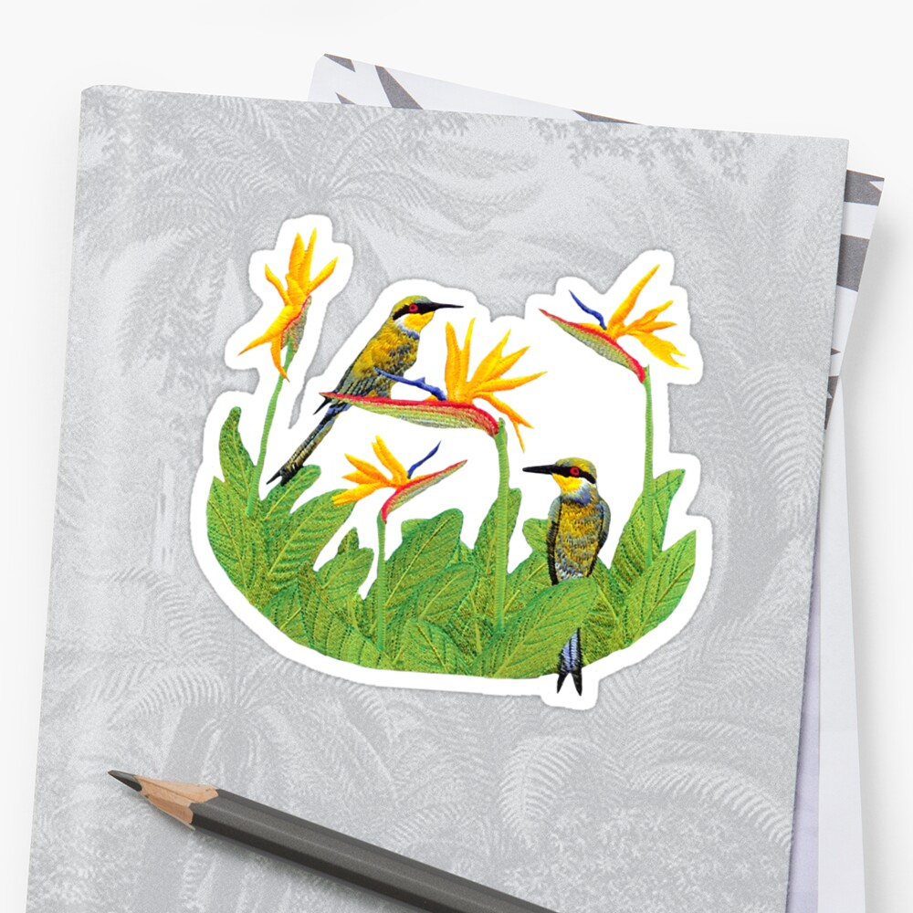 Bird of Paradise T-shirt by Walter Colvin