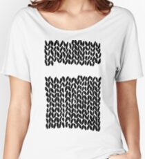 Missing Knit Women's Relaxed Fit T-Shirt