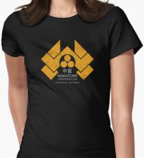 Nakatomi Plaza - HD Japanese Variant Womens Fitted T-Shirt