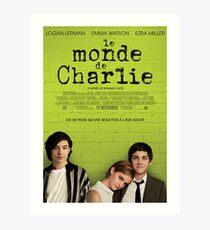 Le Monde De Charlie Affiche Art Print