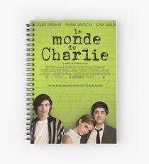 Le Monde De Charlie Affiche Spiral Notebook