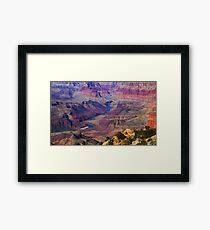 A Classic Grand Canyon View Framed Print