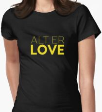 Alt Er Love — Skam Women's Fitted T-Shirt
