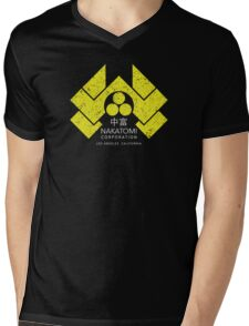 Nakatomi Plaza - HD Japanese Yellow Variant Mens V-Neck T-Shirt
