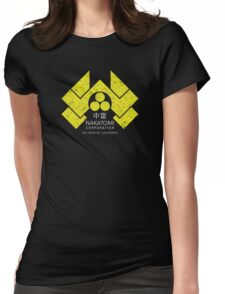Nakatomi Plaza - HD Japanese Yellow Variant Womens Fitted T-Shirt