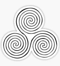 Triskele Sticker