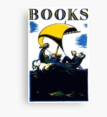 Books Allegory Canvas Print