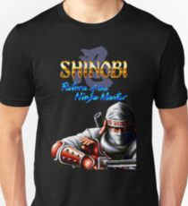Shinobi 3 Return of the Ninja Master (Genesis Title Screen) Unisex T-Shirt