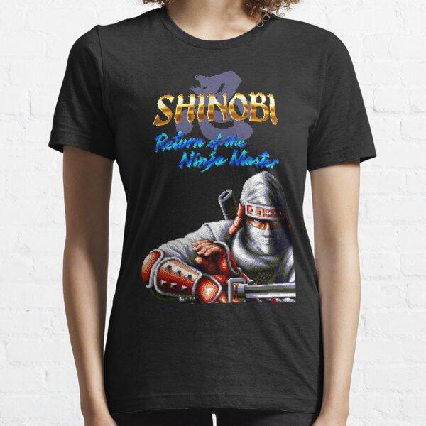 Shinobi 3 Return of the Ninja Master (Genesis Title Screen) Essential T-Shirt