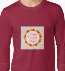 Happy Canada Day  Long Sleeve T-Shirt