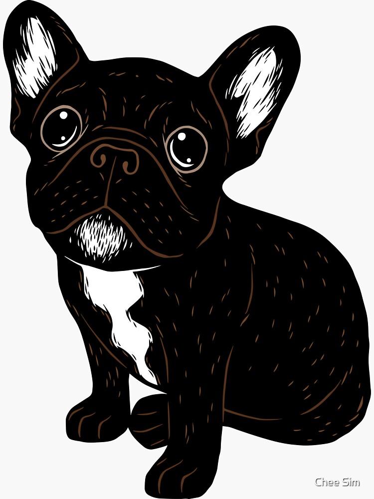 Cute Brindle Frenchie Puppy by cheesim