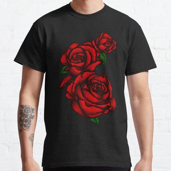 Roses rouges foncés T-shirt classique