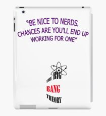 BIG BANG THEORY FUNNY iPad Case/Skin