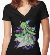 Gardevoir Women's Fitted V-Neck T-Shirt