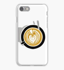 Cafe Latte iPhone Case/Skin