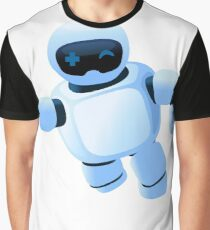 Robot in the sky Graphic T-Shirt