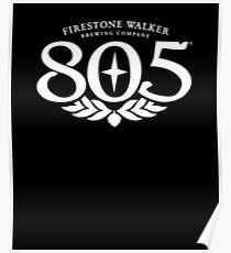 805 Beer Poster