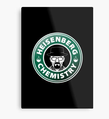 Heisenberg Chemistry Metal Print