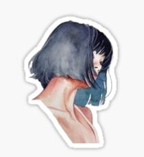 Pulp Fiction Aesthetic Short Hair Sticker