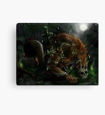 Werewolf - The Evocation Canvas Print