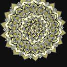 Sweet yellow mandala by paviash