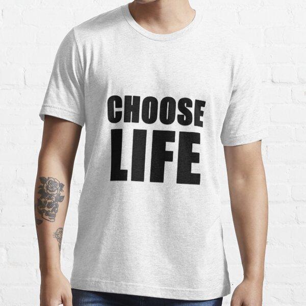 Choose Life - George Michael Music Video Essential T-Shirt
