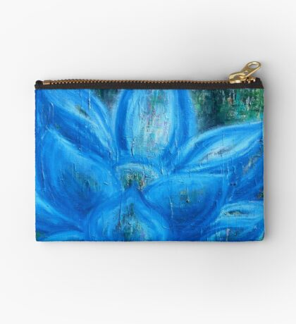 Blue Lotus Magic - an activated Inner Power Painting Studio Pouch