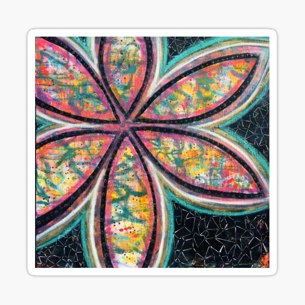 Starstruck Bloom - an activated Inner Power Painting Sticker